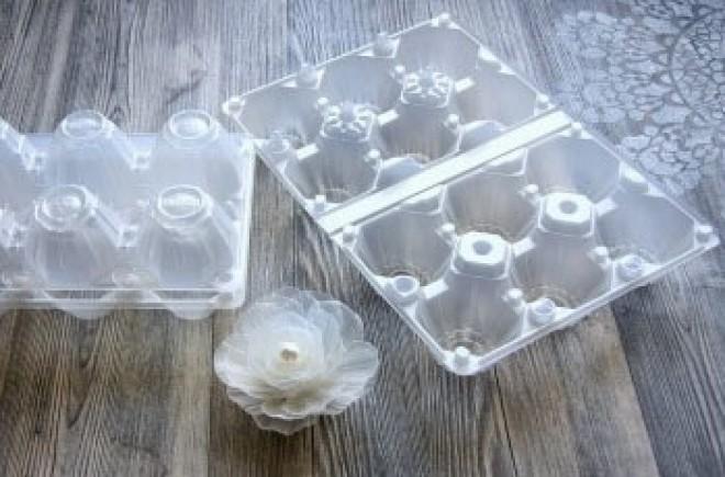 Csodás dolgot készíthetsz műanyag tojástartókból!