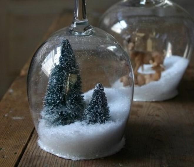 Jöhet egy filléres karácsonyi és egyszerű gyertyatarót?