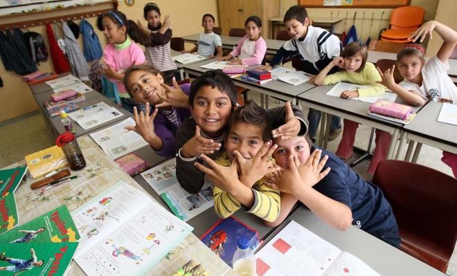 Amelyik iskolában sok a cigány onnan menekítik a gyermekeket a szülők!