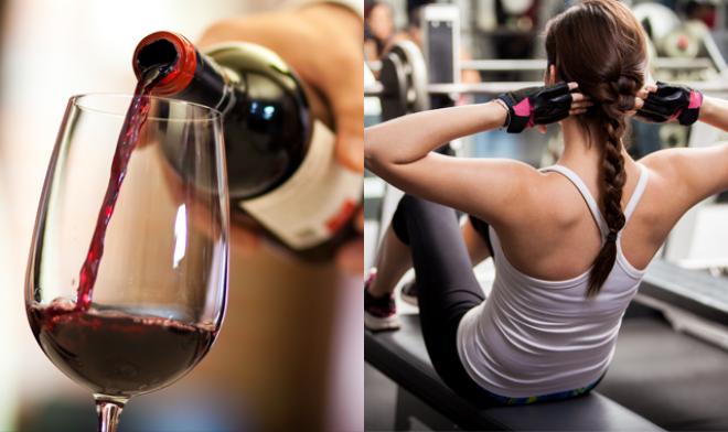 Van egy szuper hírünk: A vörösbor hatása tényleg hasonló az edzéshez!