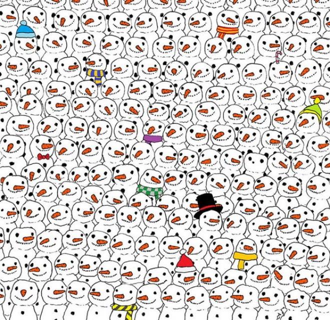 Sok a hóember, de hol a panda?