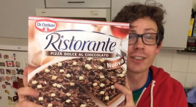 Mindig is erről álmodott: CSOKOLÁDÉS PIZZA!!!