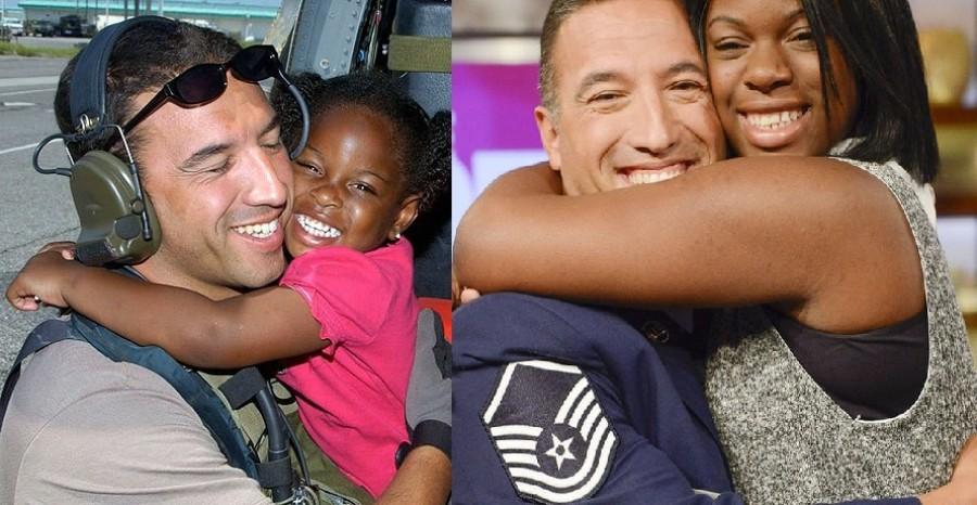 A férfi megmenti a kislányt a Katrina hurrikántól, majd évekkel később a lány menti meg a férfit!