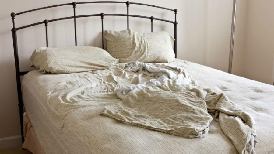 Ezt történik ha elhanyagoljuk az ágyneműnk cseréjét!