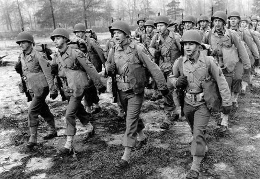 Volt egy csata a második világháborúban amikor a németek és az amerikaiak egymás mellett harcoltak!