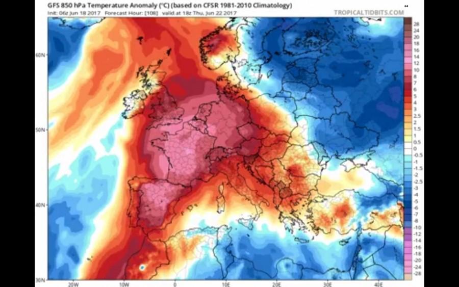 Hatalmas hőhullám tart hazánk felé, extrém magas UV sugárzásra lehet számítani!