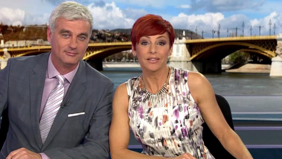Lebukott az RTL Klub két híradósa! Kép is készült róluk!