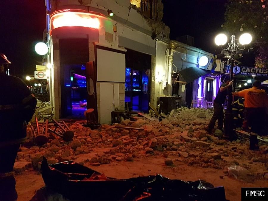 Turisták vesztették életüket a pusztító görögországi földrengésben!