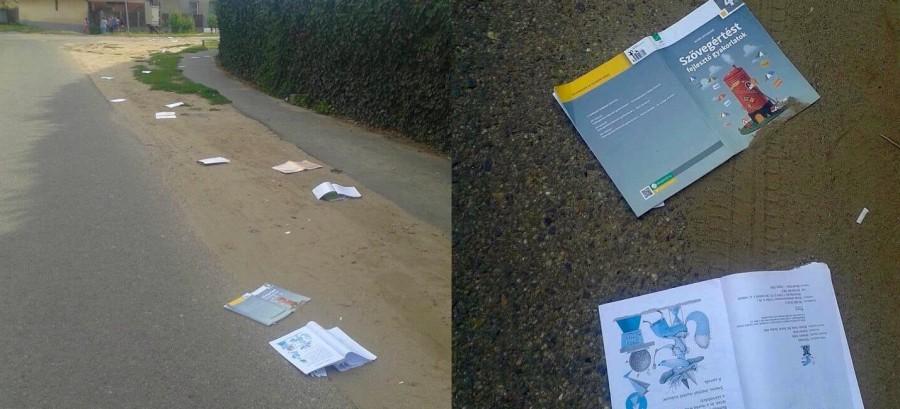 Felháborító! Így végezték az ingyen tankönyvek! Inkább egy verést érdemelnének ingyen...