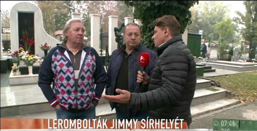 Kiderült az igazság: Ezért néz ki így Jimmy sírja!