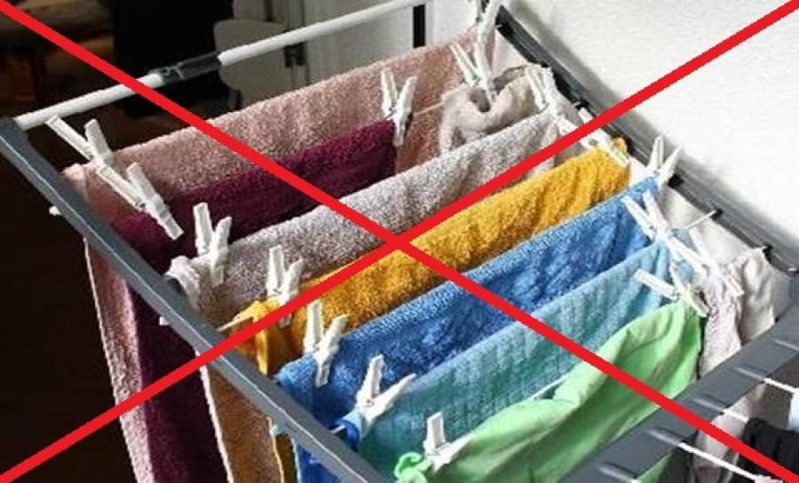 Nagymamáink trükkje: Szárító nélküli ruhaszárítás!