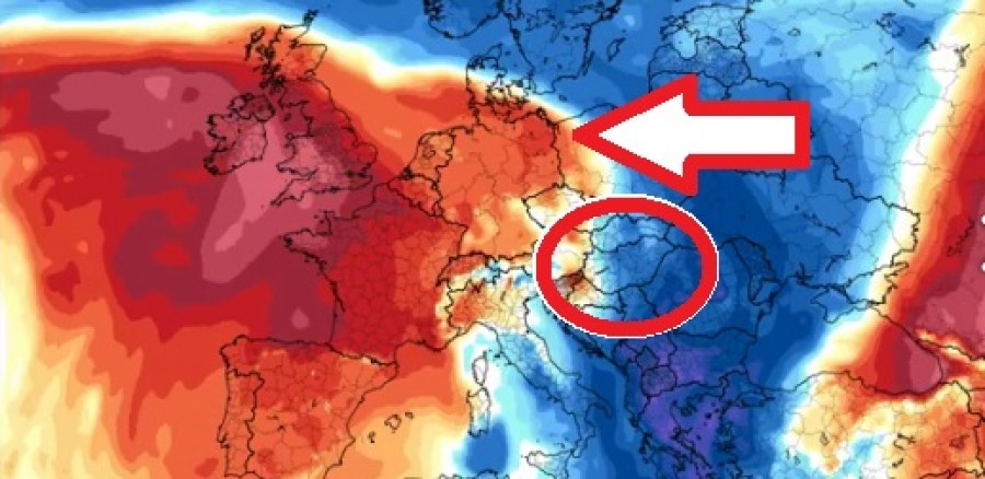Olyan brutális időjárás tart felénk amire nem számítottak a meteorológusok!