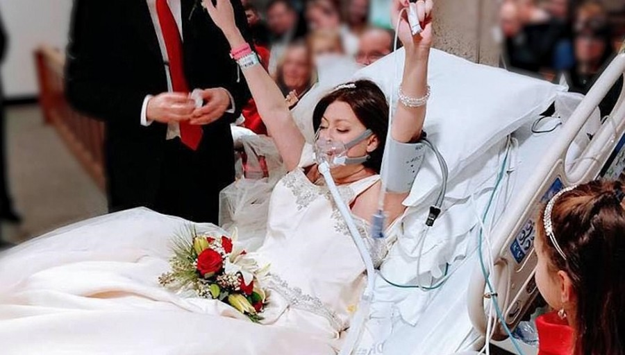 Szívbemarkoló: Esküvőjét csak pár órával élte túl