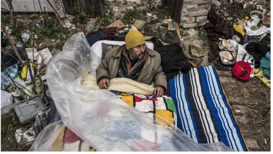 Budapest titkolt arca: Így élnek mérhetetlen szegénységben a hajléktalanok.