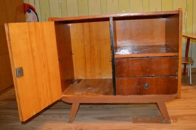 Nem gondolnád mi lett ebből a régi szekrényből!