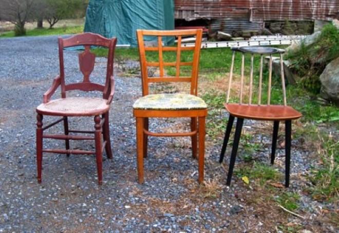 Ezért ne dobjuk ki régi székeinket!