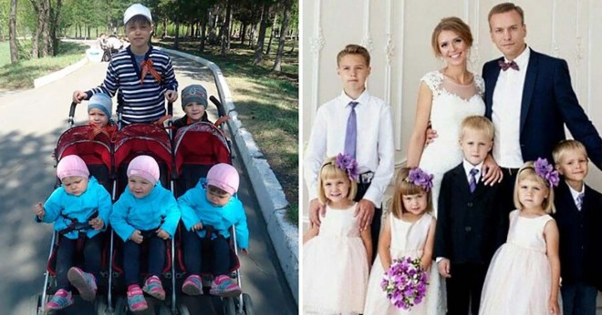 Szívbemarkoló történet egy férfiról aki felesége halála után egyedül nevelte 6 gyermekét!