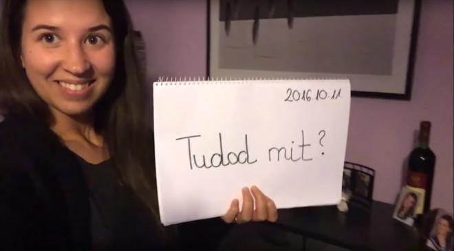 A magyar menyasszony megdöbbentő videót készített vőlegényének!