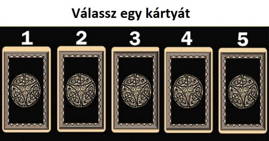 Válaszd ki a legszimpatikusabb kártyát és tudd meg mit üzen szám odra!